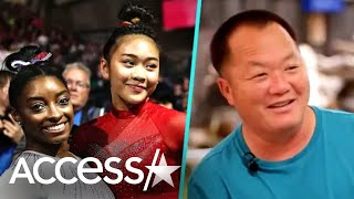 Simone Biles Surprises Suni Lee's Dad w/ New Wheelchair
