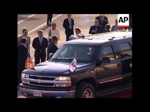 WRAP US Vice President; Biden on Russia ADDS Biden arriving in Georgia