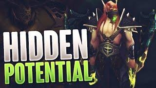 How I got the HIDDEN ARTIFACT skin - Bulwark of the Iron Warden - WoW Legion Beta Hidden Potential