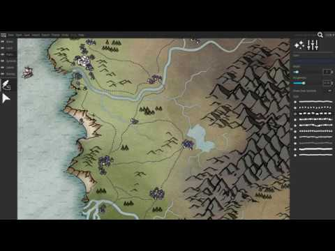 Check out fantasy map creator Wonderdraft | PC Gamer