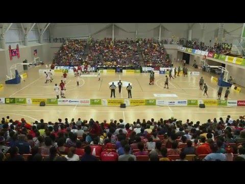 TAHITI vs PNG Basketball