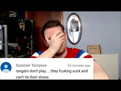 READING HATE COMMENTS FROM CELTIC FANS #2 OLD FIRM EDITION!!