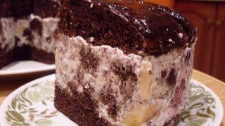 Шоколадный торт Африканская ромашка