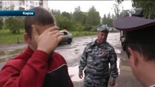 В Кирове пьяные дебоширы расстреляли водителя и пассажира легковушки
