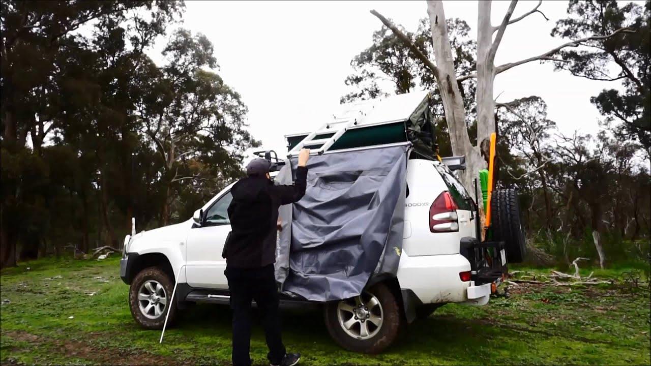 & Ultimate Aussie Adventures - Gordigear Roof Top Tent - YouTube