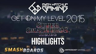 Best of Smash - Get On My Level 2015 Highlights - SSBM