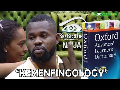 """New Word """"Kemenfingology"""" Added To Oxford English Dictionary After Kemen & Tboss in #BBNaija"""