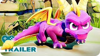 Spyro Reignited Trilogy Gameplay & Trailer (2018) PS4, Xbox One Game