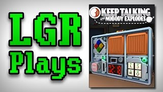LGR Plays - Keep Talking And Nobody Explodes