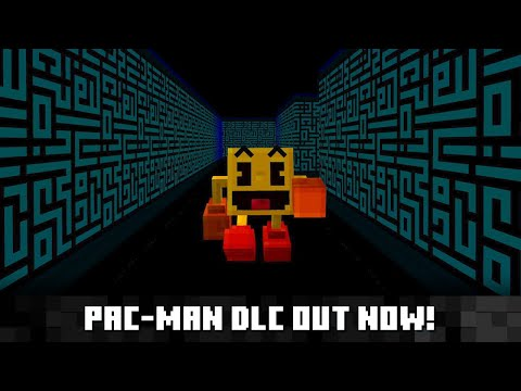 PAC-MAN comes to Minecraft!