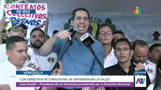 "Presidente (E) Juan Guaidó: ""Si hay que repeler al ELN a plomo pues que sea a plomo"""