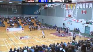 Kevin Thomas 2012-13 basketball highlights