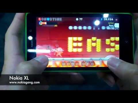 ทดสอบเล่นเกมส์บน Nokia XL