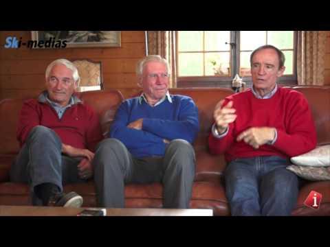 Ski-medias : Guy Perillat - Léo Lacroix - Jean-Claude Killy