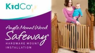 Kidco Angle Mount Wood Safeway