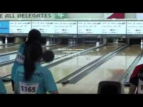 """26th Seagame 2011 Indonesia (Bowling women trios team """"Thailand"""")"""