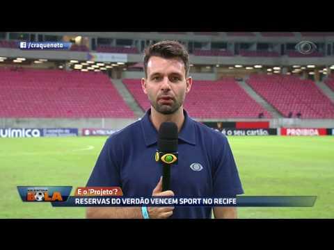Reservas Do Verdão Vencem Sport No Recife