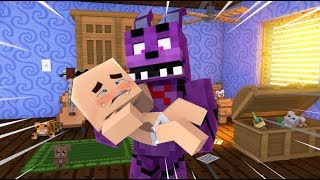 Minecraft FNAF: Bonnie Babysits FNAF Babies (Minecraft FNAF Roleplay)