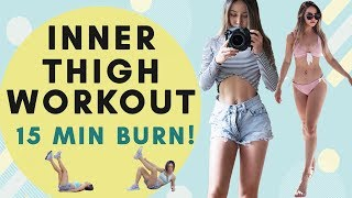Inner Thigh Burn Workout | 15 Min Lean Thighs Workout | Inner & Outer Thighs