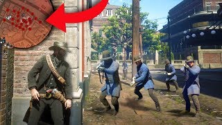 PLAYING HIDE AND SEEK WITH THE LAW! | Red Dead Redemption 2 Outlaw Life #12