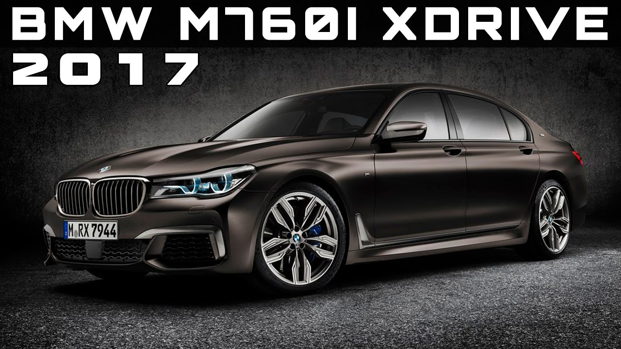 2017 BMW M760i XDrive Review Rendered Price Specs Release Date