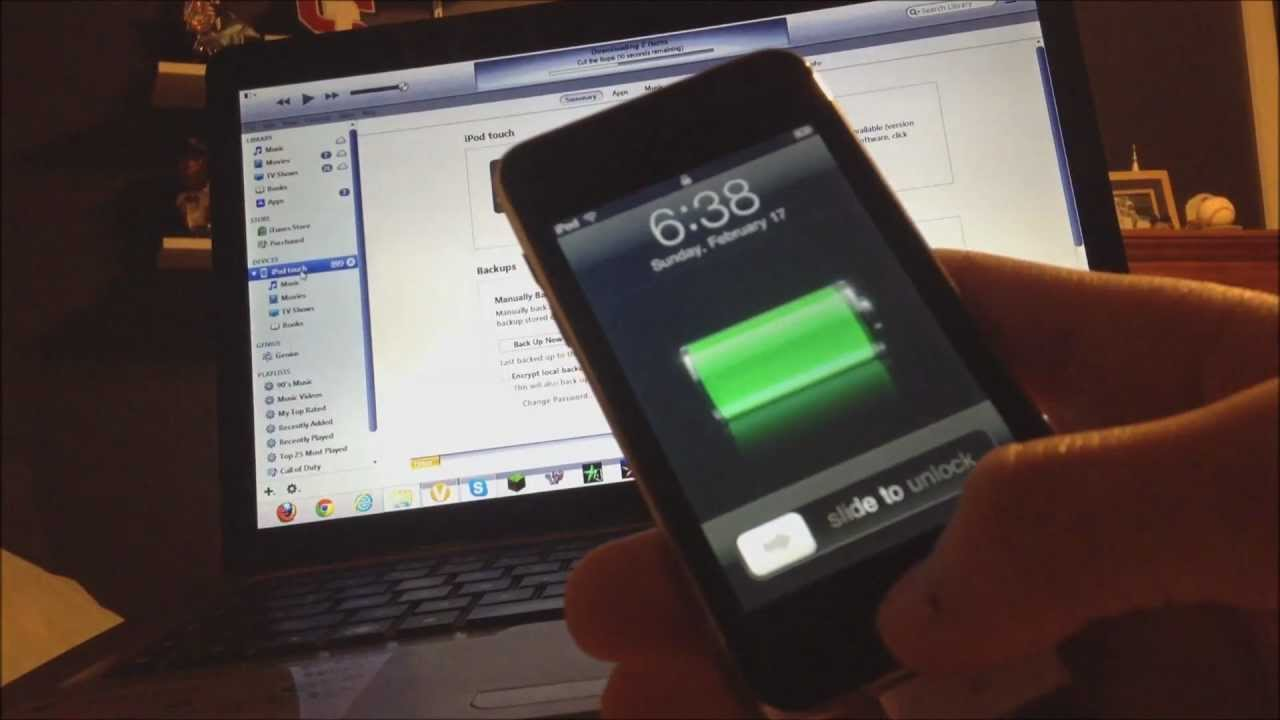 How to Downgrade Your iPod Touch 2nd Generation MC Model from iOS 4 2 1 to  iOS 3 1 3 WITH JAILBREAK