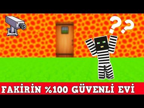 ZENGİN VS FAKİR #105 - Minecraft %100 Gizli ev