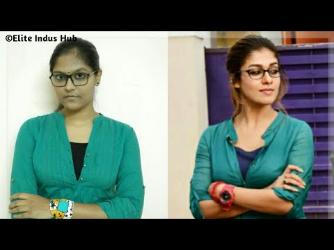 Easy Low Ponytail | Dora Nayanthara Hairstyle thumbnail