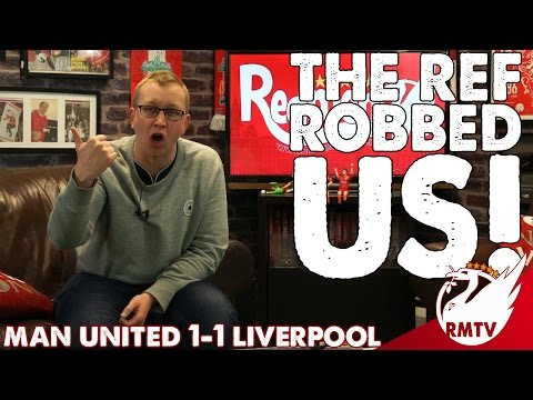 Man United v Liverpool 1-1 | The Ref Robbed Us! | Chris' Match Reaction