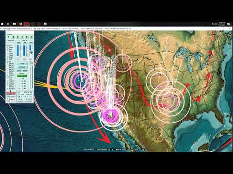 7/24/2018 -- West Coast USA Earthquake Unrest -- Oregon + California -- What to expect going forward