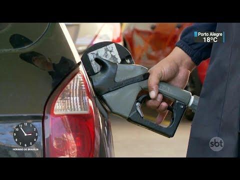 Petrobras autoriza reajuste nos preços do diesel e da gasolina | SBT Notícias(07/11/17)