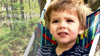 Selective Mutism or is my child just shy?  |  R. Lindsey Bergman, PhD