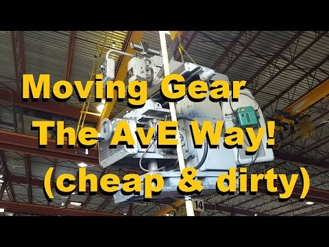 How to move heavy iron SOLO. Cheap, Dirty and Downright Dangerous.