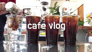 ENG) cafe vlog | 3년차 개인카페 사장 카…