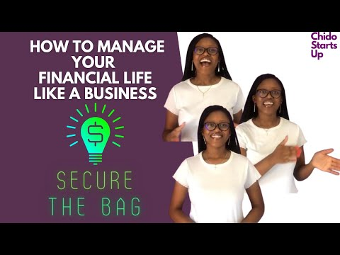 How To Manage Your Financial Life Like A Business  South Africa   Zimbabwean YouTuber