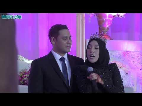 Sweetnya! Shila Amzah Peluk Suami Selepas Selesai Nyanyi Lagu Ini di Majlis Resepsi