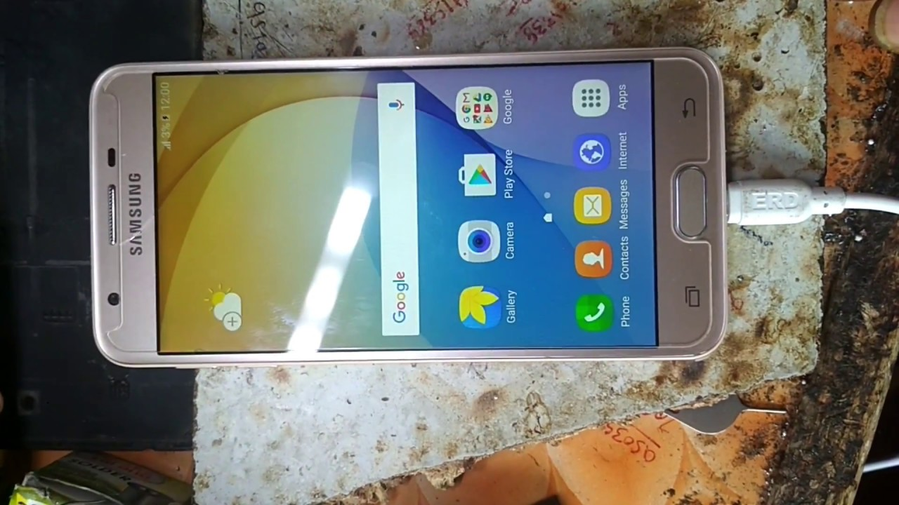 how to Flash Samsung Galaxy J5 Prime SM G570f, Write Firmware - YouTube