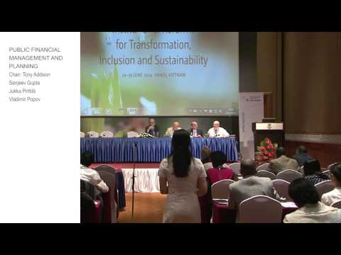 TIS Conference - Public Financial Management and Planning Q+A (1.2)