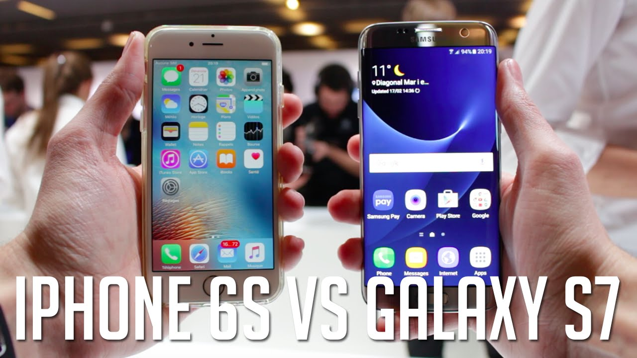 mobile samsung comparatif