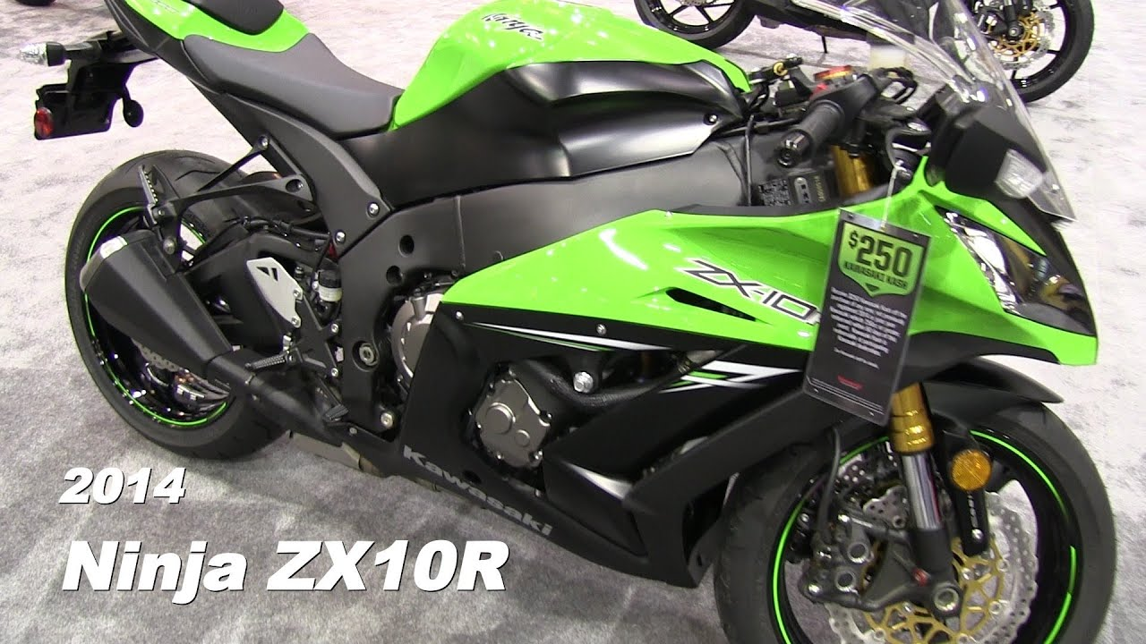 2014 Kawasaki NINJA ZX10R Walk Around Video - GREEN - YouTube
