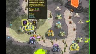 Kingdom Rush - Level 15 (Iron Challenge, Premium Content) - Rotten Forest