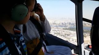 Stefanov let helikopterom Dubai 14 11 2014