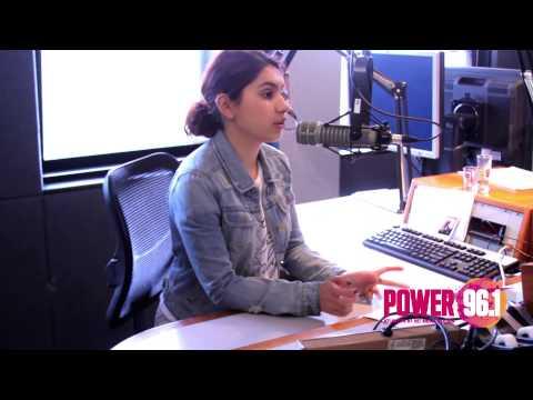 Power 96.1 Interview - Alessia Cara Interview w/ Maddox