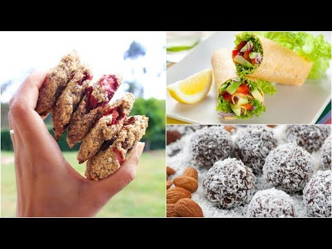 3 Amazing Back To School Recipes  | Vegan & Vegetarian Friendly