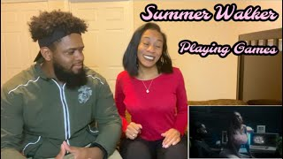 Summer Walker - Playing Games (with Bryson Tiller) [Official Music Video] REACTION