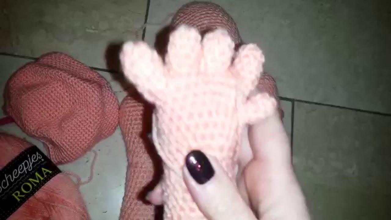 Die Erste Puppe Ist In Arbeit Anleitung Bei Der Beschreibung Zu
