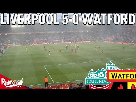 Liverpool v Watford 5-0   Story of the Match