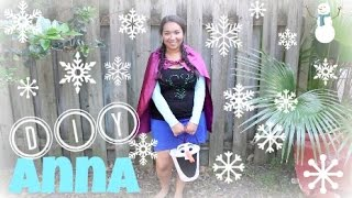 DIY l Frozen Anna Costume! Quick & Easy!