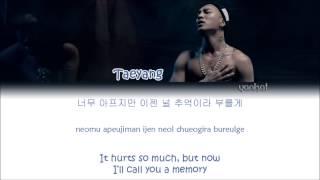 Download TAEYANG (태양) – Eyes, Nose, Lips (눈, 코, 입) (Color Coded Han Rom Eng Lyrics)
