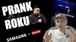 SUPREME x Samsung! Największy streetwear prank roku czy kolabo roku?